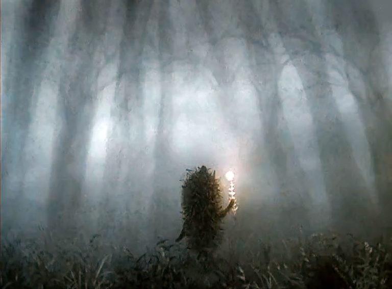 подробно картинки в сказке обман призрачный остров скрылся в туман тем