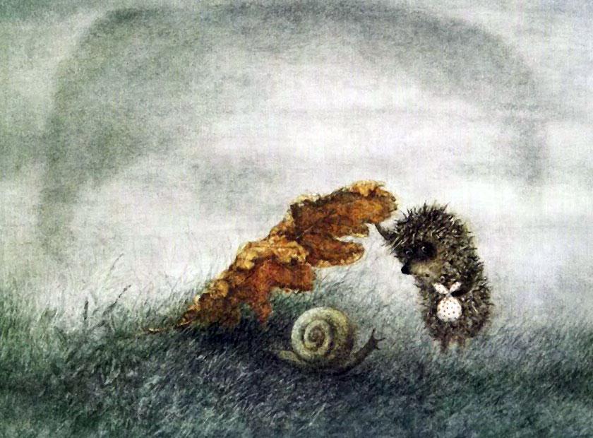 Ёжик в тумане (1975 Юрий Норштейн)